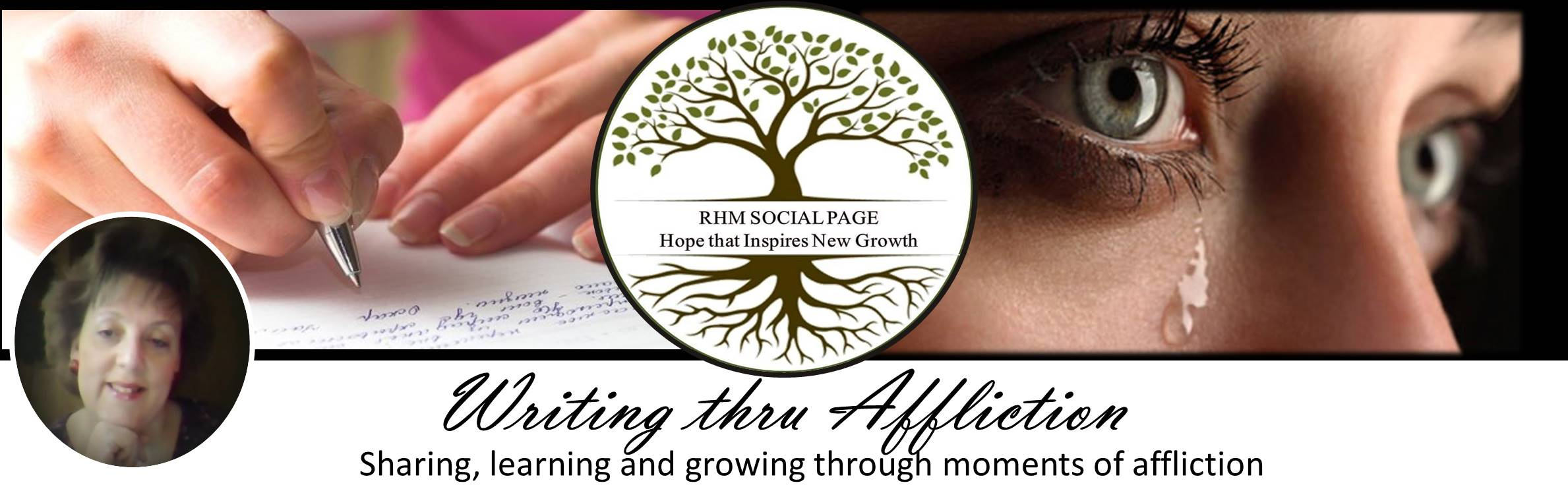 Risen Hope Ministries Social Blog Page | Writing thru Affliction with Diane K Hiltz Chamberlain